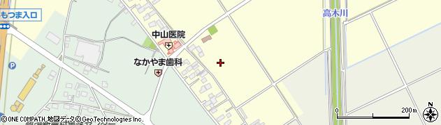 茨城県下妻市中郷周辺の地図