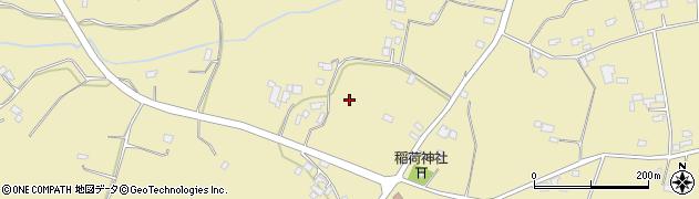 茨城県小美玉市佐才周辺の地図