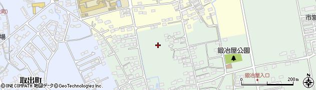 長野県佐久市鍛冶屋周辺の地図