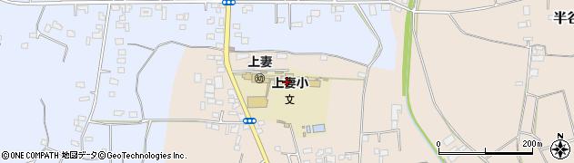 下妻市立上妻幼稚園周辺の地図