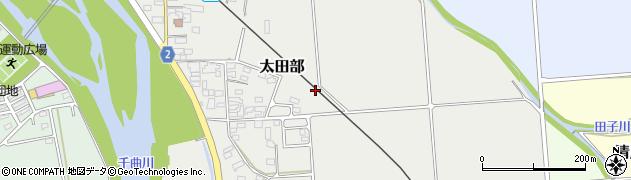長野県佐久市太田部周辺の地図