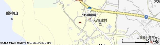 茨城県石岡市村上周辺の地図