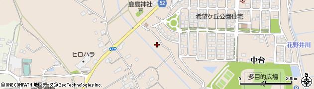 茨城県小美玉市小曽納周辺の地図