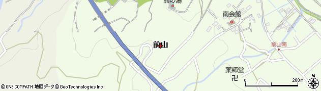 長野県佐久市前山周辺の地図
