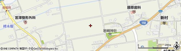 長野県松本市新村(上新東)周辺の地図