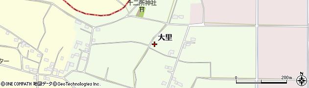 茨城県八千代町(結城郡)大里周辺の地図