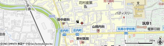 長野県松本市庄内周辺の地図