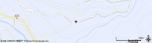 長野県松本市入山辺(中村)周辺の地図
