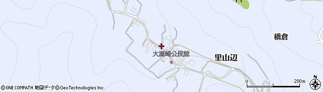 長野県松本市里山辺(大嵩崎)周辺の地図