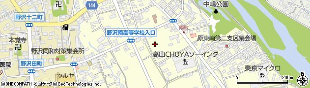 長野県佐久市原周辺の地図