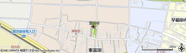 冨田寺周辺の地図