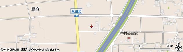 長野県松本市島立周辺の地図