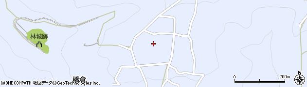 長野県松本市入山辺(橋倉)周辺の地図