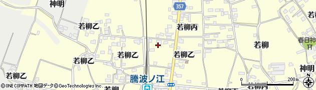株式会社粟野建設 作業場周辺の地図