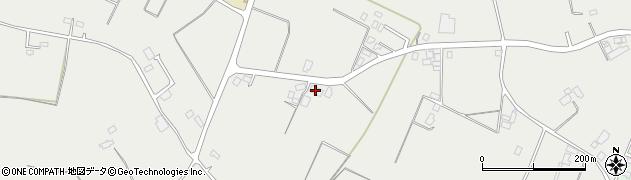 茨城菁莪館道場周辺の地図