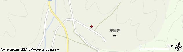 岐阜県高山市国府町西門前周辺の地図
