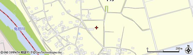 茨城県下妻市平方周辺の地図
