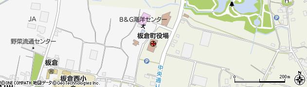 群馬県邑楽郡板倉町周辺の地図