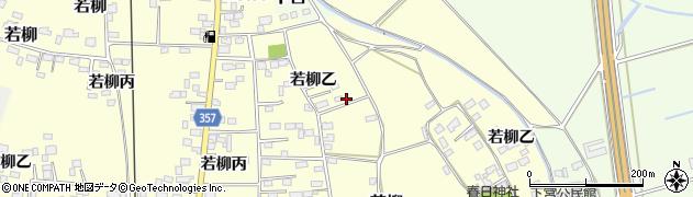 茨城県下妻市若柳(丙)周辺の地図