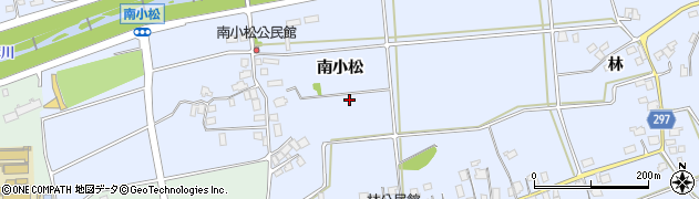 長野県松本市里山辺(南小松)周辺の地図