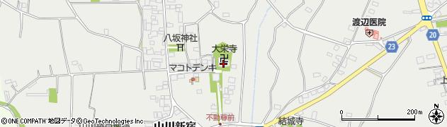 大栄寺周辺の地図
