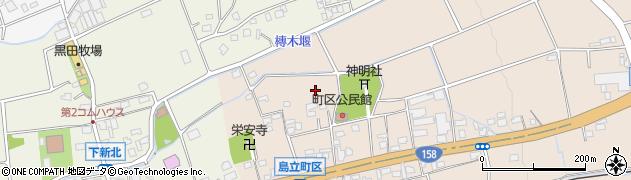 長野県松本市島立(町区)周辺の地図