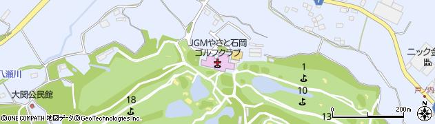 やさと国際ゴルフ倶楽部 予約専用周辺の地図