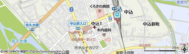 明正堂喫茶周辺の地図