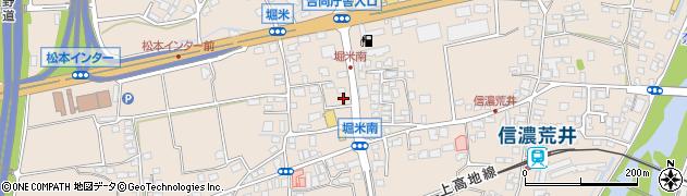 長野県松本市島立(堀米)周辺の地図