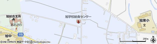 鉾田市役所旭市民センター旭学校給食センター周辺の地図
