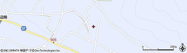 長野県松本市入山辺(東桐原)周辺の地図