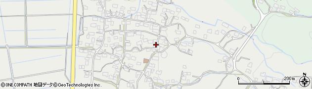 茨城県桜川市真壁町酒寄周辺の地図