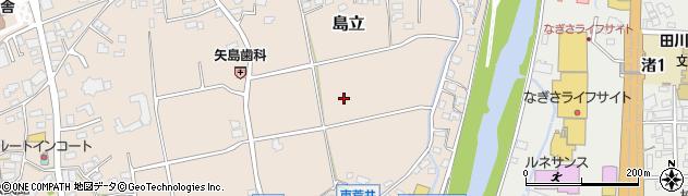 長野県松本市島立(荒井)周辺の地図