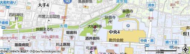 大松禅寺周辺の地図
