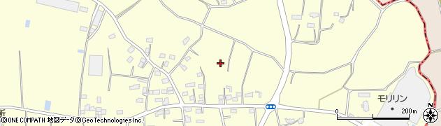 茨城県筑西市花田周辺の地図