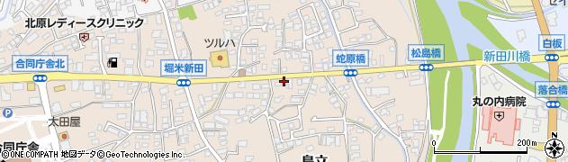 長野県松本市島立(蛇原)周辺の地図