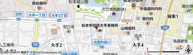 二木医院周辺の地図