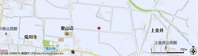 長野県松本市里山辺周辺の地図