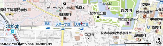 金井歯科医院周辺の地図