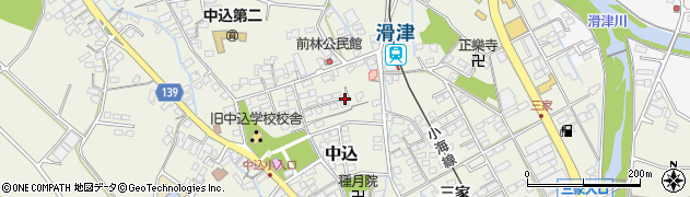 長野県佐久市中込周辺の地図