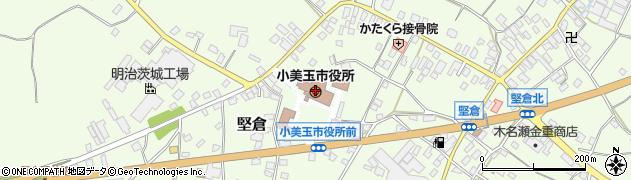 茨城県小美玉市周辺の地図