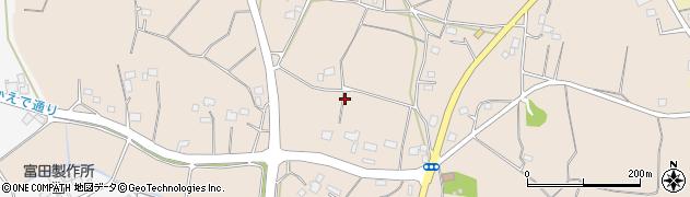 茨城県小美玉市張星周辺の地図