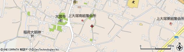 群馬県藤岡市上大塚周辺の地図