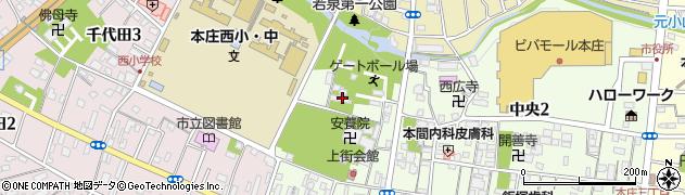 普寛霊場周辺の地図