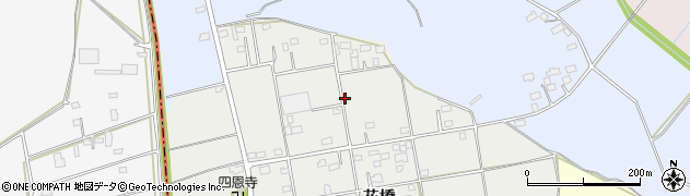 茨城県筑西市花橋周辺の地図