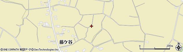 茨城県筑西市藤ケ谷周辺の地図