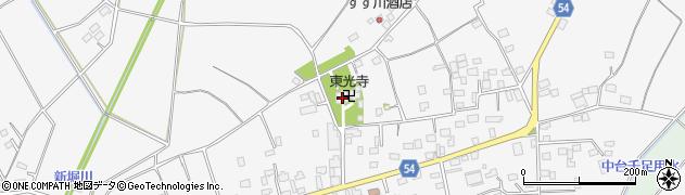 東光寺周辺の地図
