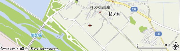 長野県佐久市中込(杉ノ木)周辺の地図