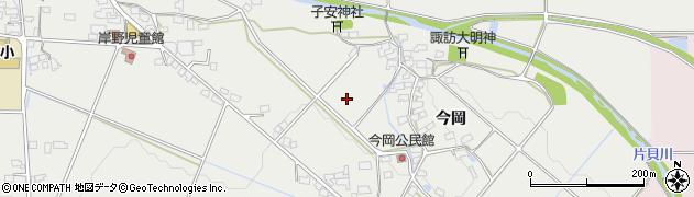 長野県佐久市伴野(今岡)周辺の地図