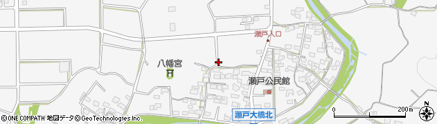 長野県佐久市瀬戸周辺の地図